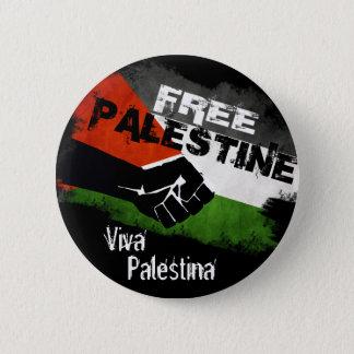 自由なパレスチナ- Viva Palestina 缶バッジ