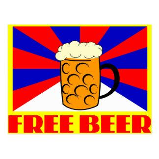 自由なビール ポストカード