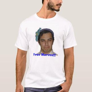 自由なマルコス!!! Tシャツ