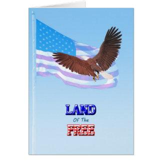 自由なメモリアルデーカードの土地 カード