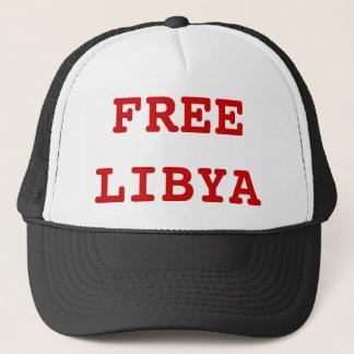 自由なリビア キャップ