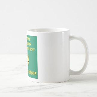 自由な人々、フリーマーケット及び限られた政府 コーヒーマグカップ