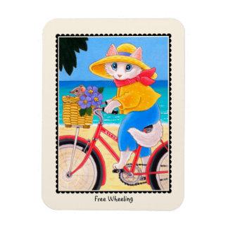 「自由な回転」猫及びマウスの自転車の磁石 マグネット