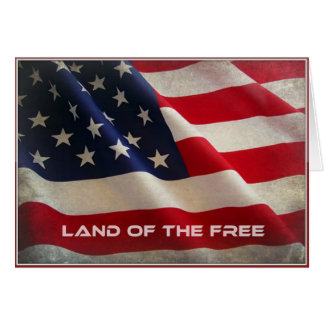 自由な復員軍人の日の挨拶状の土地 カード