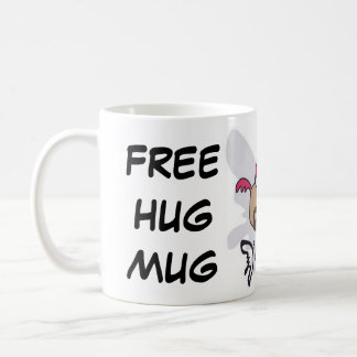 自由な抱擁マグ コーヒーマグカップ