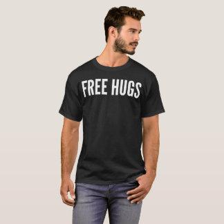 """""""自由な抱擁""""タイポグラフィのTシャツ Tシャツ"""