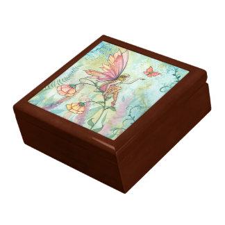 自由な花の妖精の装身具箱 ギフトボックス