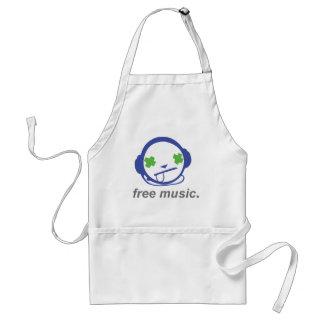 自由な音楽、自由なjammie スタンダードエプロン