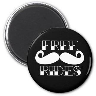 自由な髭の乗車 マグネット