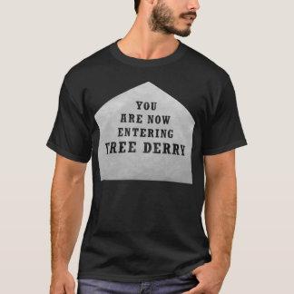自由なderryコーナー tシャツ