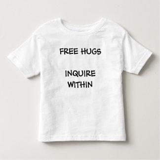自由なHUGSINQUIRE中 トドラーTシャツ