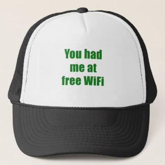 自由なWifiで私がありました キャップ