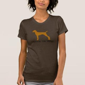 自由にして下さいVIZSLA (茶色)を Tシャツ