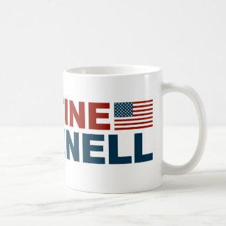 自由のためのクリスティーンO'Donnell コーヒーマグカップ