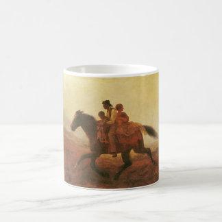 自由のための乗車ジョンソン著逃亡者の奴隷 コーヒーマグカップ