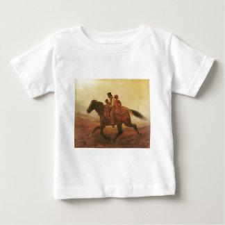 自由のための乗車ジョンソン著逃亡者の奴隷 ベビーTシャツ