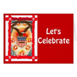 、自由のの土地を祝おう カード
