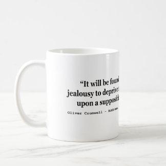 自由のオリバー・クロムウェルの自然な引用文1654年 コーヒーマグカップ