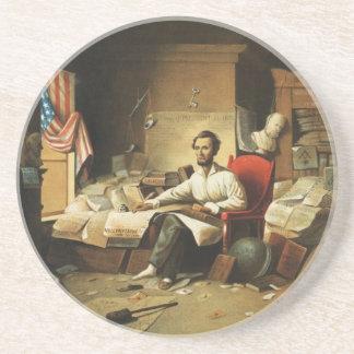 自由のリンカーン大統領の執筆布告 コースター