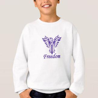 自由のワイシャツ-スタイル及び色を選んで下さい スウェットシャツ