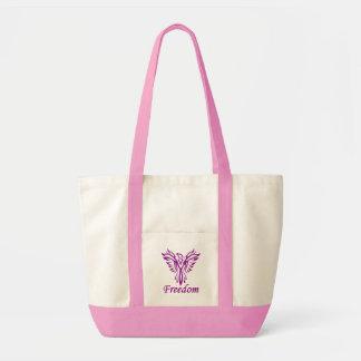 自由のワシのバッグ-スタイル及び色を選んで下さい トートバッグ