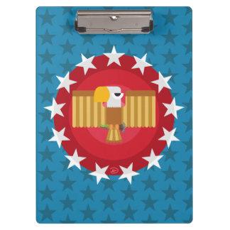 自由のワシの(青い) -クリップボード クリップボード