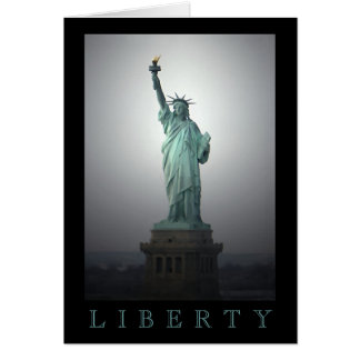 自由の女神 カード