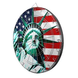 自由の女神、ニューヨーク ダーツボード