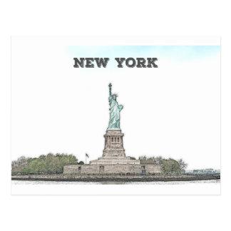 自由の女神-ニューヨーク ポストカード