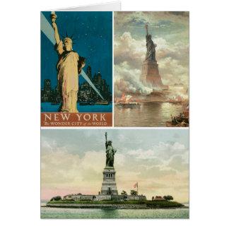 自由の女神、ニューヨーク。 型 カード