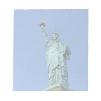 自由の女神 ノートパッド