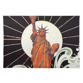 自由の女神 ランチョンマット