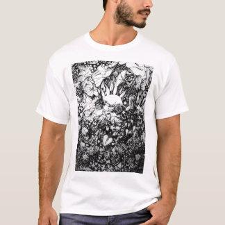 自由の抽象芸術 Tシャツ