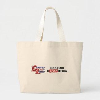 自由の改革のためのロン・ポールのキャンペーン ラージトートバッグ
