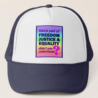 自由の正義の平等の帽子 キャップ