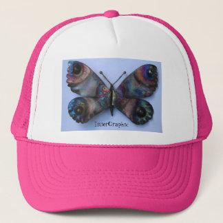 自由の蝶帽子 キャップ