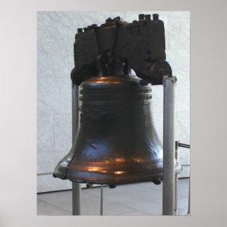 自由の鐘-フィラデルヒィア、ペンシルバニア ポスター