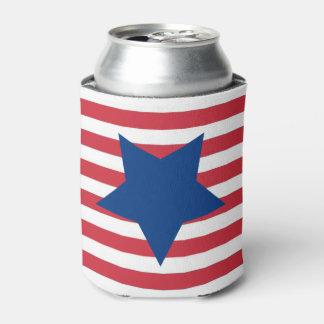 自由の7月4日の飲料のクーラーボックスへの捧げ物 缶クーラー