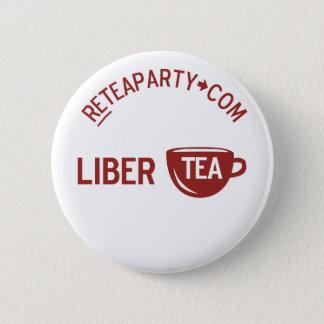 自由のLiberteaのお茶会ボタン 缶バッジ