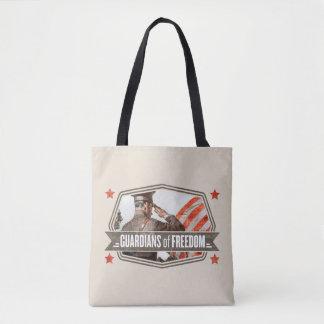 自由のSolider保護者 トートバッグ