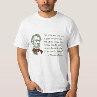 自由のTシャツのエイブラハム・リンカーン Tシャツ