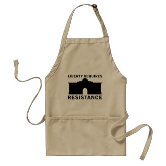 自由は抵抗のエプロンテンプレートを要求します スタンダードエプロン