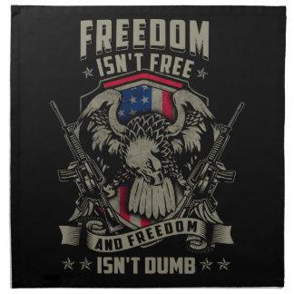 自由は自由ではないし、自由は物の言えなくないです ナプキンクロス
