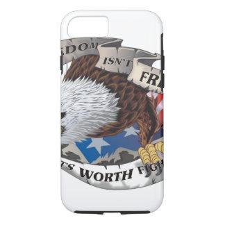 自由は自由ではないですが、のために戦う価値があります iPhone 8/7ケース