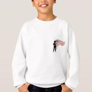 自由または死のミニットマン スウェットシャツ