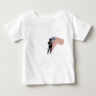 自由または死のミニットマン ベビーTシャツ