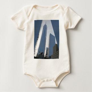 自由タワーの世界貿易センターニューヨークの写真99 ベビーボディスーツ