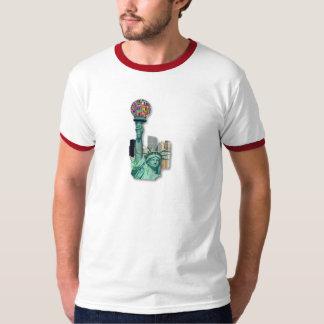 自由ニューヨーク Tシャツ