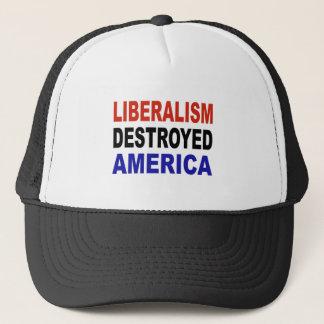 自由主義によって破壊されるアメリカ キャップ
