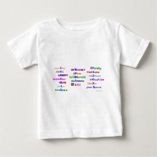 自由主義ので道徳的な価値 ベビーTシャツ